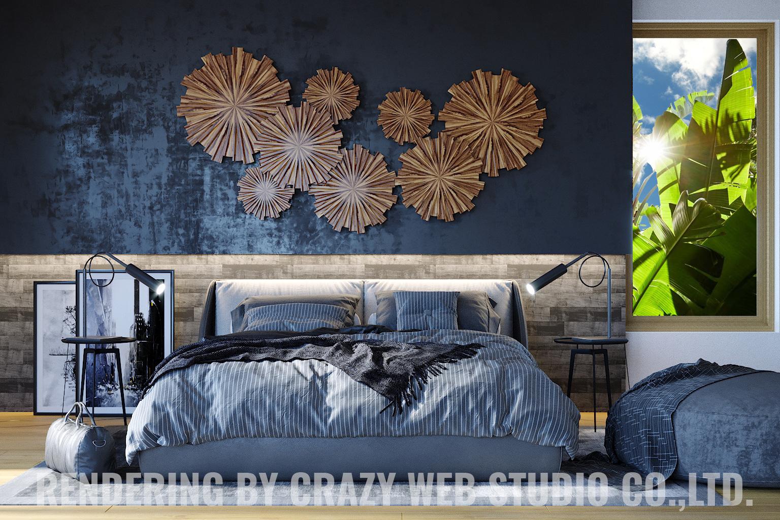 3D Rendering Photorealistic Interior Design Phuket Company Crazy Web Studio1